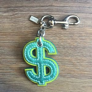 Accessories - Coach purse or purse charm / adornment